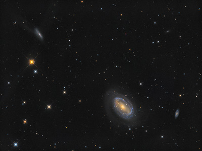 NGC4725 Barred Spiral Galaxy